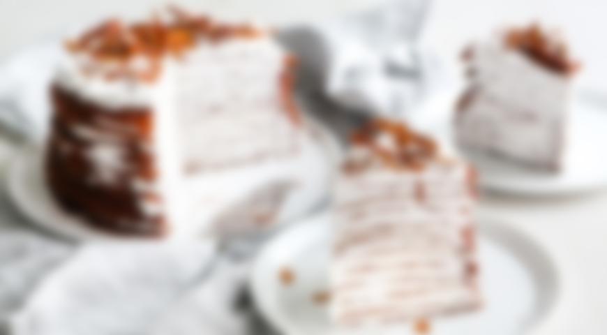 Рецепт вкусного блинного торта