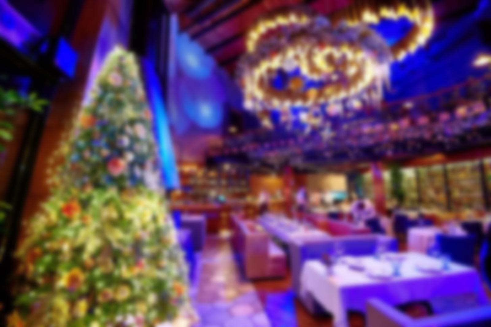 картинки новогодние ресторанов