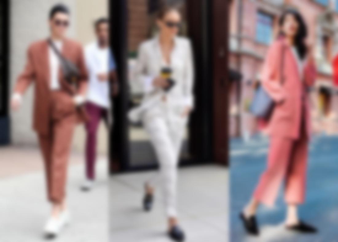 1e7556983eac Женские брючные костюмы 2019 года: модные тенденции (фото)