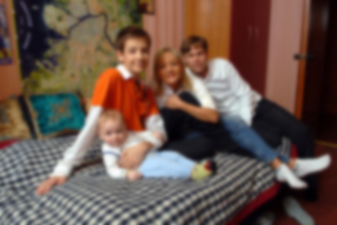 слову, таня буланова и ее семья фото давних времён