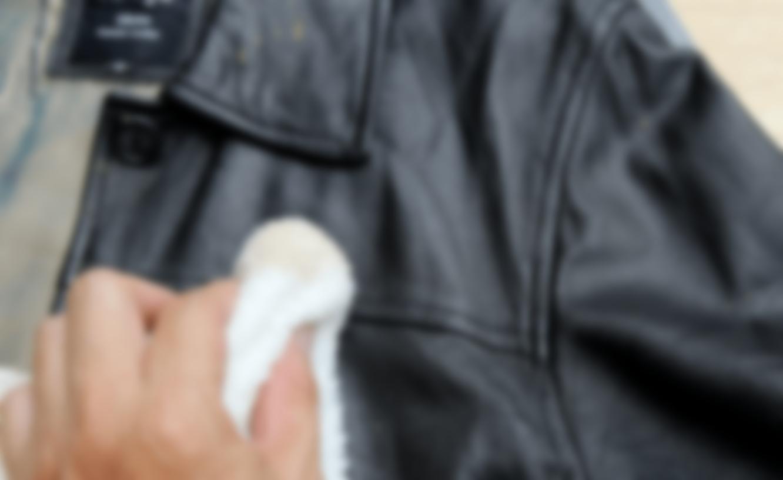 Как эффективно почистить кожаную куртку
