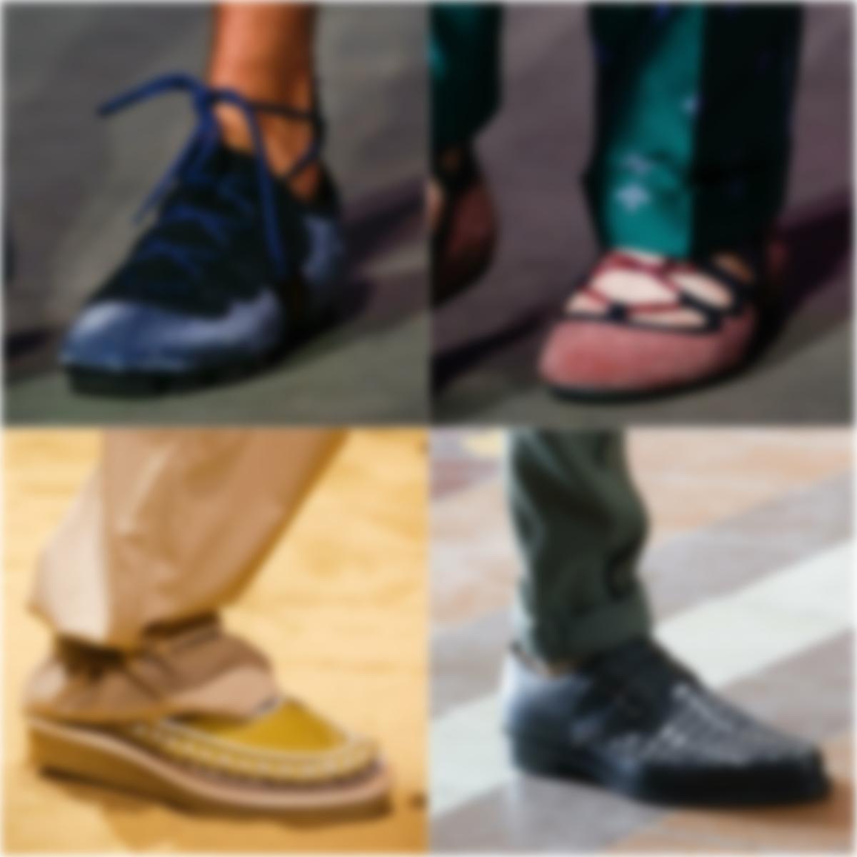 b1cd75215 Модными новинками будут полуботинки с цветочными и растительными принтами,  бисером, бахромой, кисточками и вышивкой. В женской и мужской обувной моде  ...