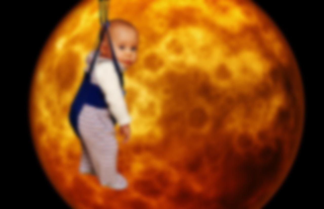 Луна картинки смешные
