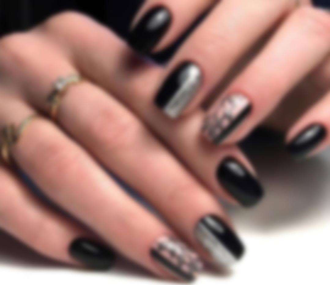 Черные ногти – дизайн 2021: Какой маникюр сегодня в моде?