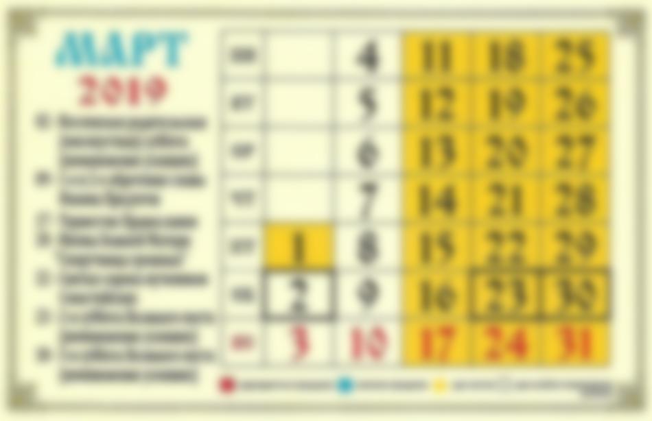 Родительские субботы в 2019 году: православные календарь в 2019 году