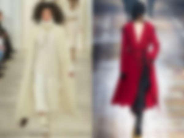 Модные пальто осень-зима 2018-2019  новинки сезона - loverme e300a070bf6