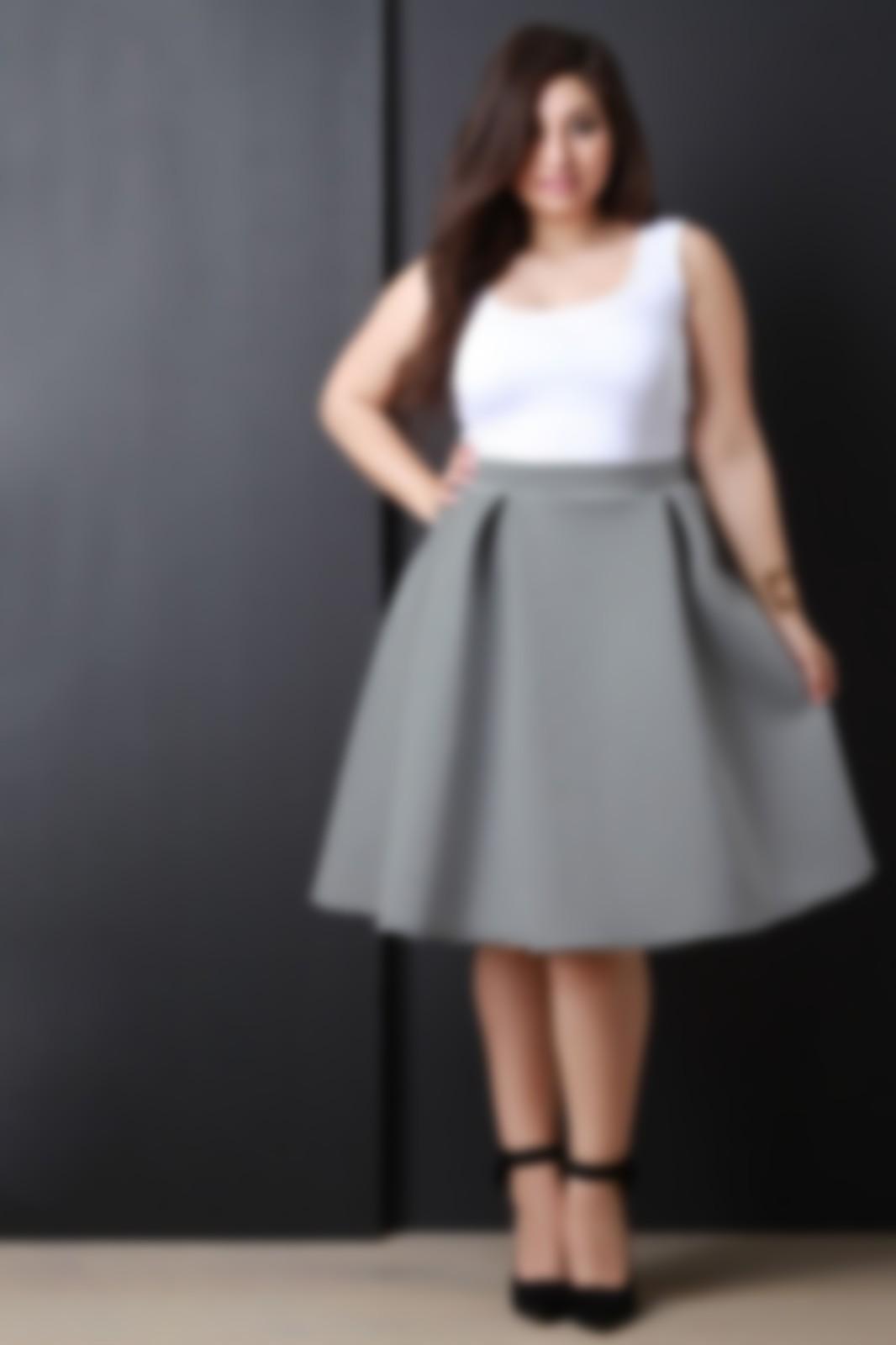 1325dbb2ef12a4c Юбки 2019 года, олицетворяющие модные новые тенденции на фото, подойдут и  для полных представительниц прекрасного пола. Очень важно остановить свой  выбор на ...