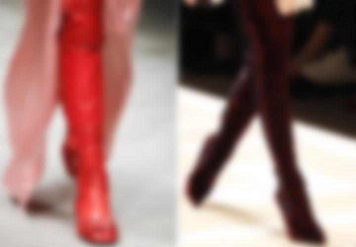 Модные женские сапоги 2019-2019 года изоражения