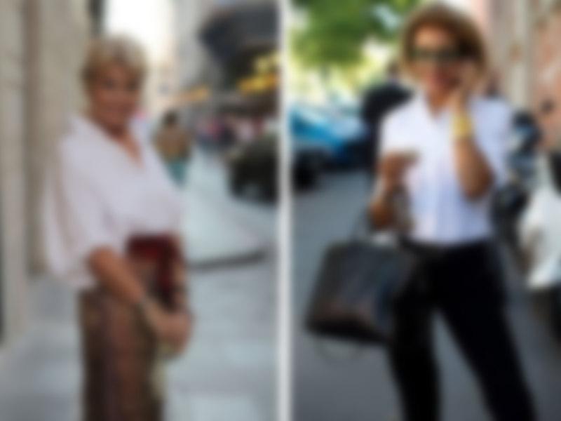 6c044cbcc1e Мода для полных женщин за 50 в 2018 году лето  фото