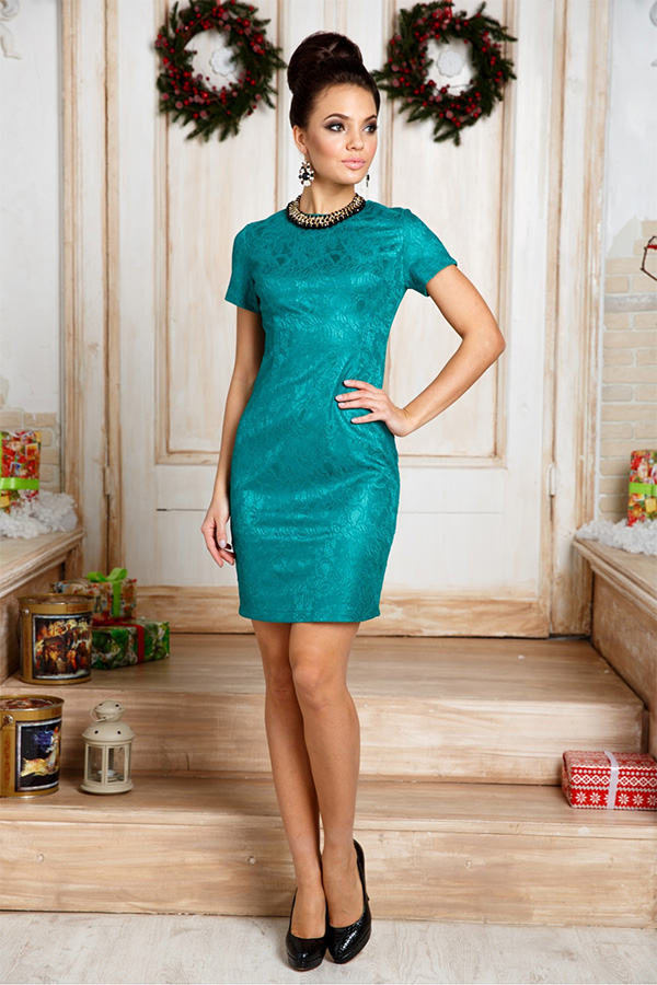 Модели платьев футляров на новый год фото пенкину