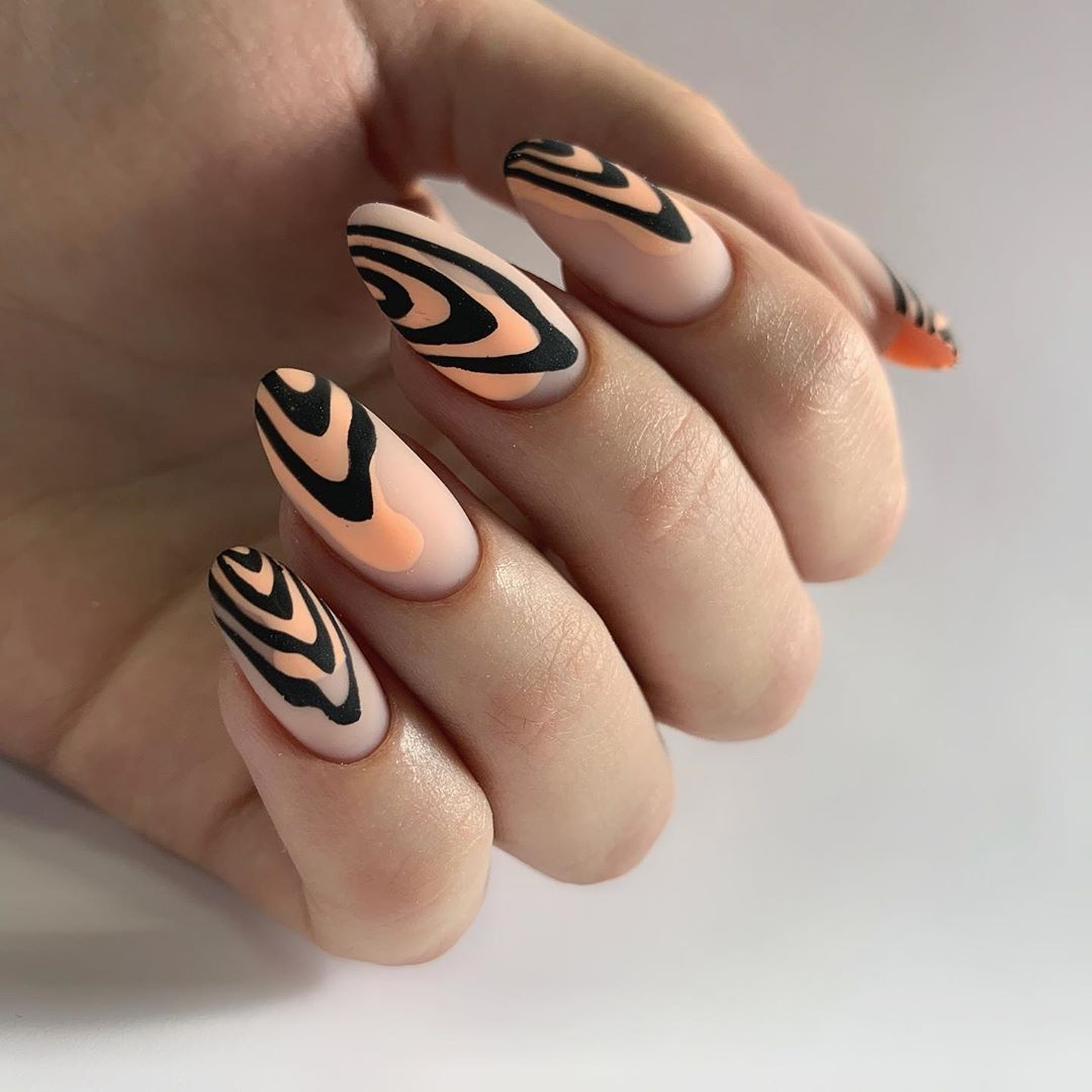 дизайны ногтей абстракция картинки происходит раскрытие