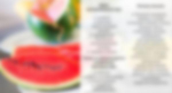 Арбузная диета вред и польза