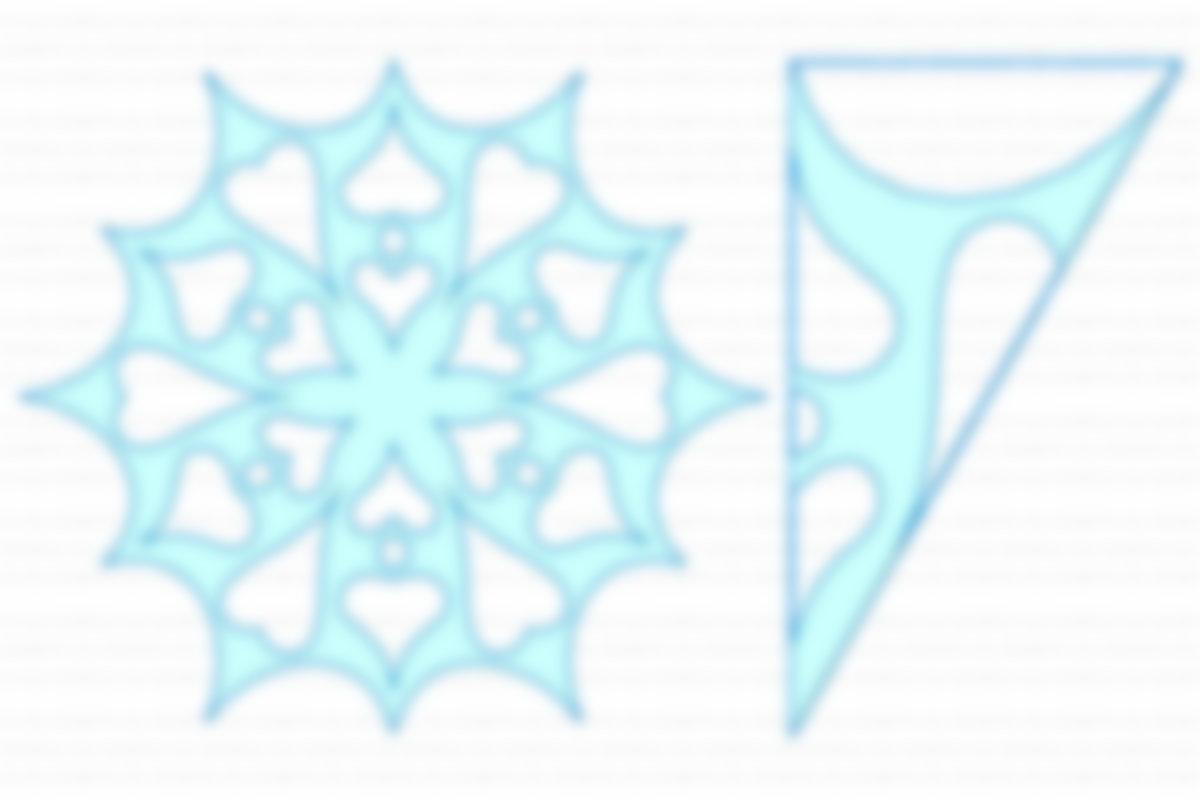 Из бумаги снежинки картинки