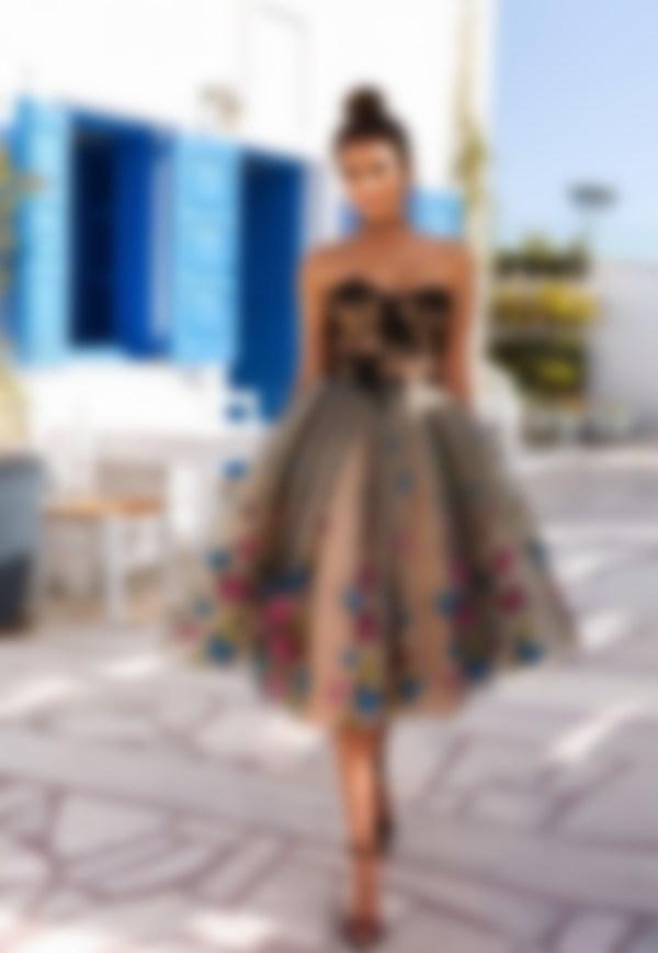 ae3ee81cd6b В 2018 году зачастую выбирают наряды с большим количеством аппликаций и с  флористической вышивкой. При этом аппликации и вышивки зачастую создают из  ...