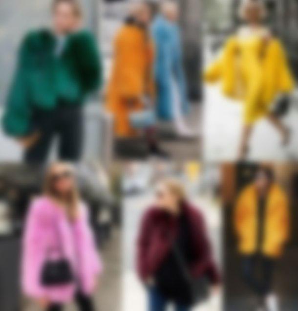 Модные меховые пальто 2019