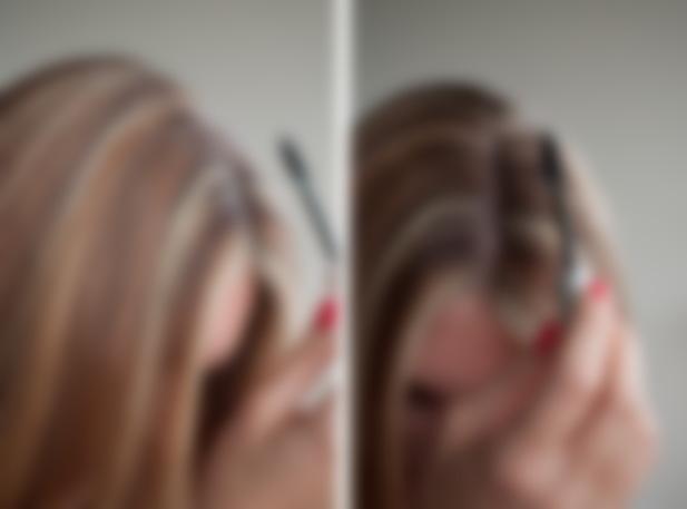 Покрасить волосы дома от седины