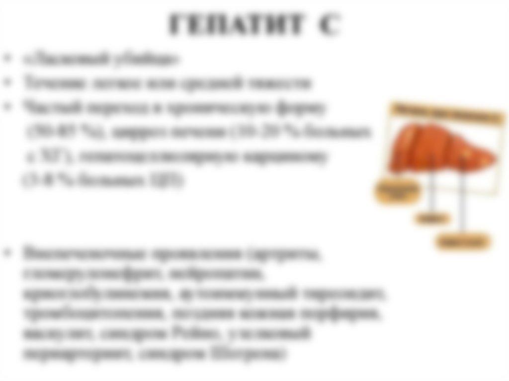 Гепатит С - как передается от человека к человеку, симптомы