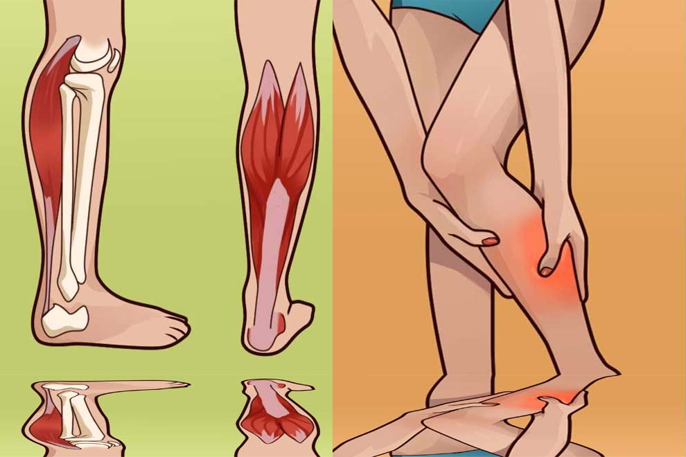 Первая помощь при судорогах в ногах в ночное время