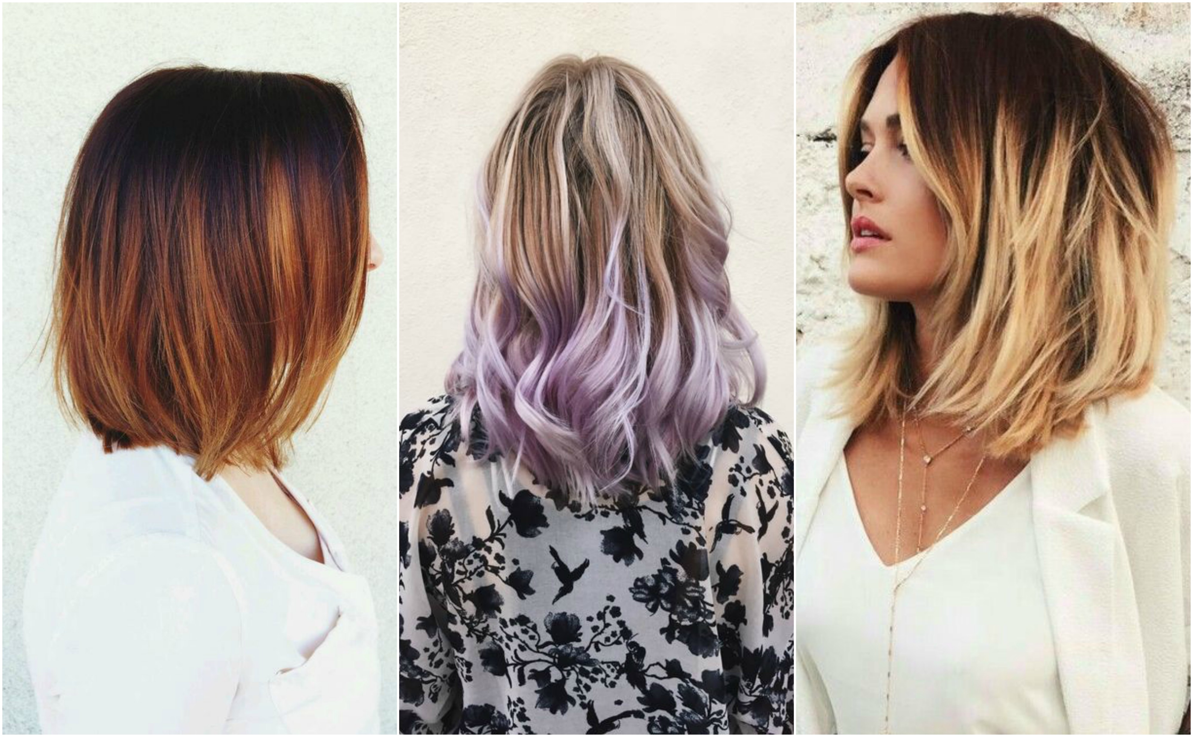 Обратите внимание! Ультра модные цвета волос 2018 года