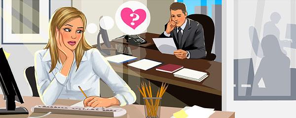 Влюбилась в начальника и отдалась