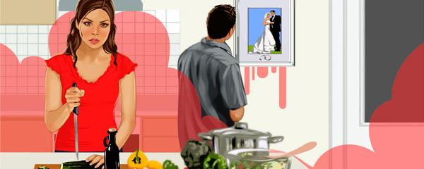 Муж ушел и ненавидть бывшую жену