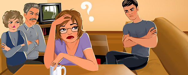 муж не знакомит с родителями