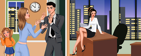Выпрашиваю секс у мужа