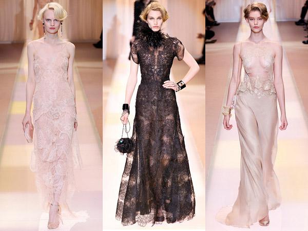 Высокая мода женского платья