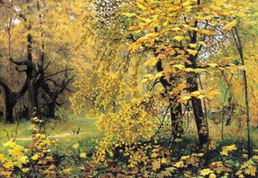 Сочинение по картине Остроухова Золотая осень для 2-го класса