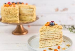 Торт «Наполеон» на сковороде с пошаговыми фото