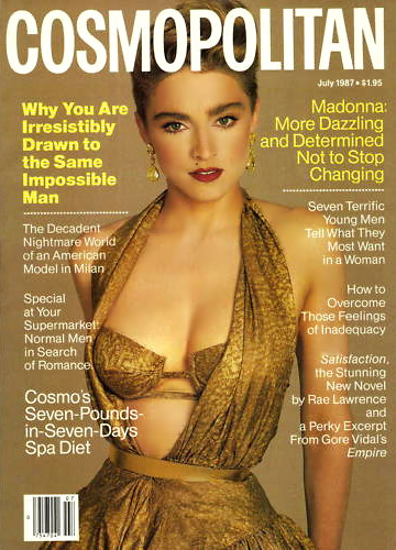 Image result for madonna young cosmopolitan