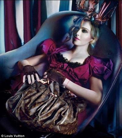 Мадонна вновь позирует для Louis Vuitton
