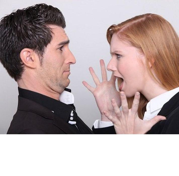 фото пары ссора
