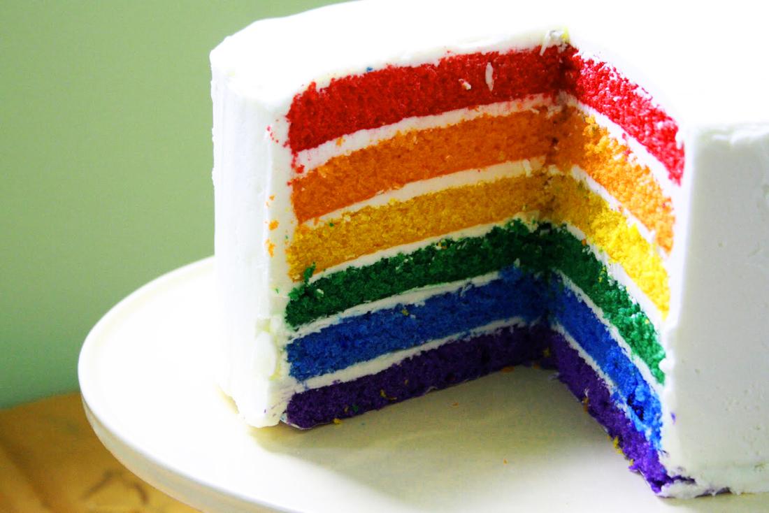 Как в домашних условиях сделать цветной крем для торта в домашних условиях
