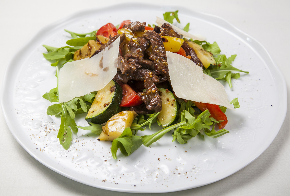рецепты с мясом салатов с фото