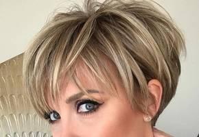 Стильные стрижки на короткие волосы для женщин после 40