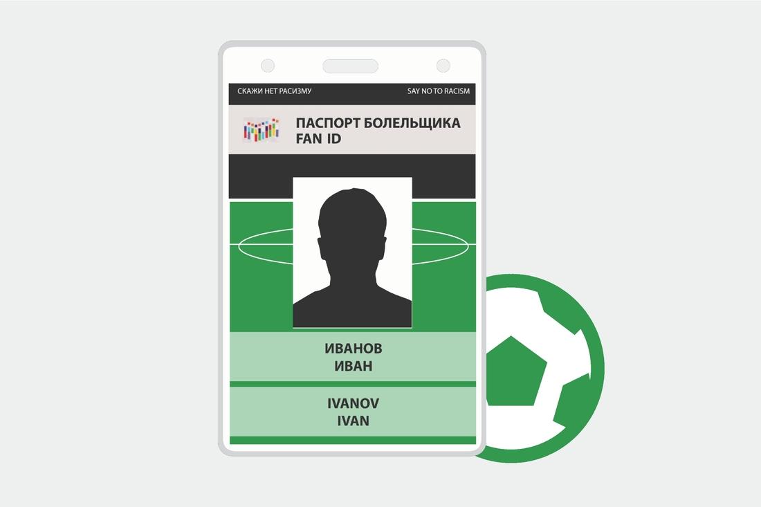 Как сделать паспорт болельщика по футболу 194