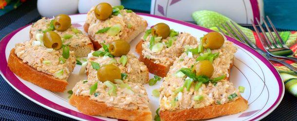 закуски и бутерброды на праздничный стол рецепты