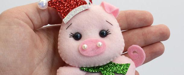62986_53221719_612 Новогодние игрушки из фетра своими руками: 46 фото