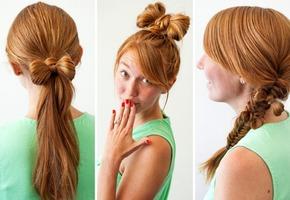 Красивые причёски на 1 сентября на средние волосы 7-8 класс