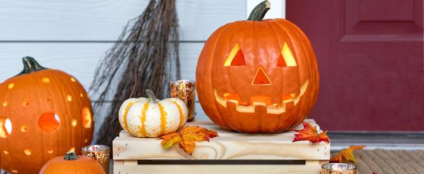 Маленькая тыква на хэллоуин своими руками