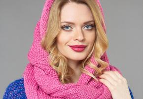 Как модно завязать шарф на голову