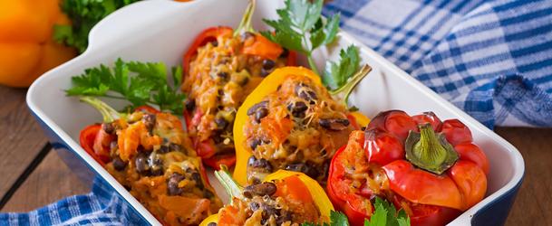 Перцы фаршированные мясом и рисом в мультиварке рецепт с фото пошагово