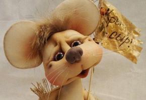 Как сделать крысу из капрона на Новый 2020 год