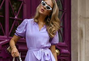 Как модно завязать пояс на платье