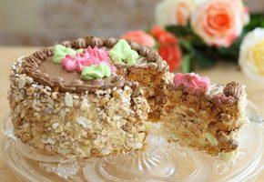 Рецепт вкусного Киевского торта по ГОСТу
