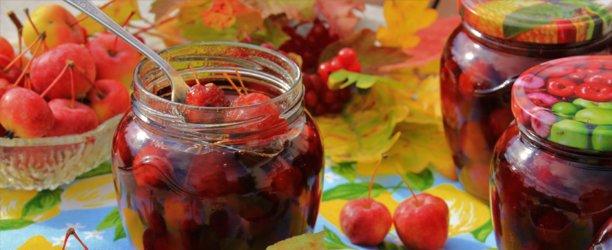 Варенье из райских яблок с хвостиками прозрачное