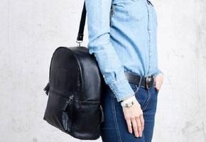 Женские рюкзаки из натуральной кожи