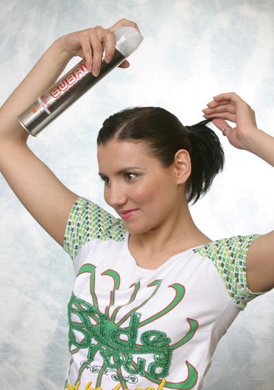 Новая разновидность в лаках для волос