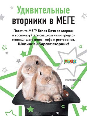 игры Модное лото, которая весь ноябрь проводится в МЕГЕ Белая Дача.